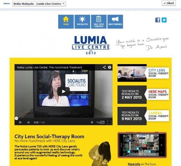 Lumia Live Centre