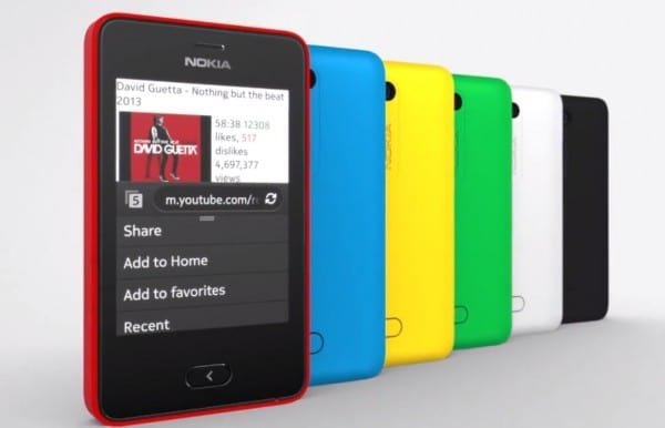 Nokia Asha 501 - 1