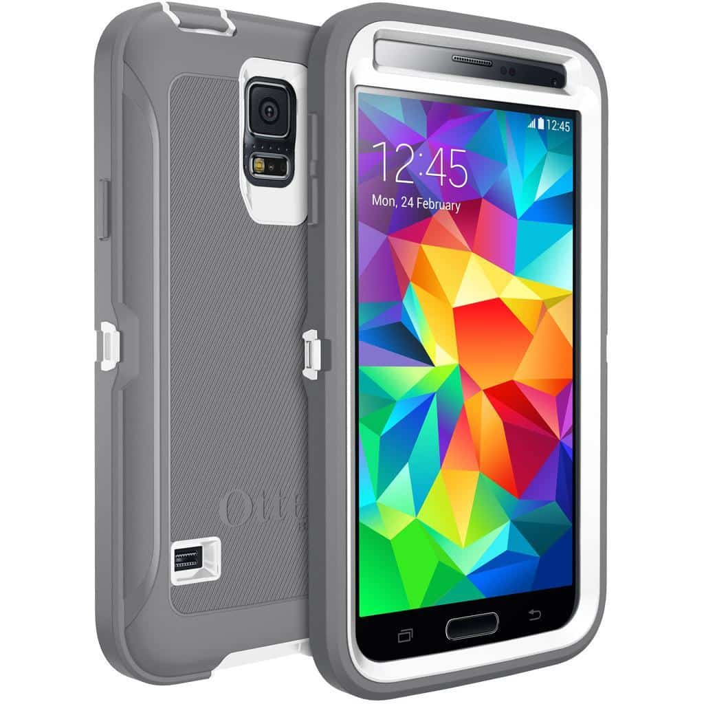 reputable site d0dd1 def85 Review: OtterBox Defender Series for Samsung GALAXY S5 | LiveatPC ...