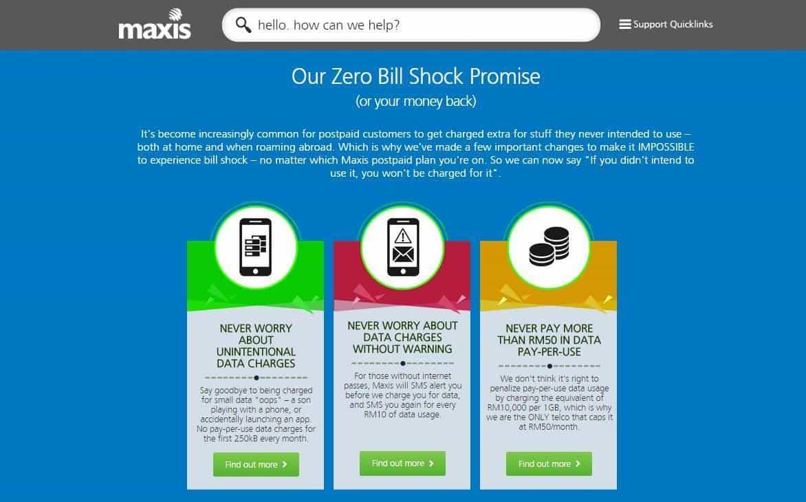 Maxis Promises No More Bill Shock | LiveatPC com - Home of
