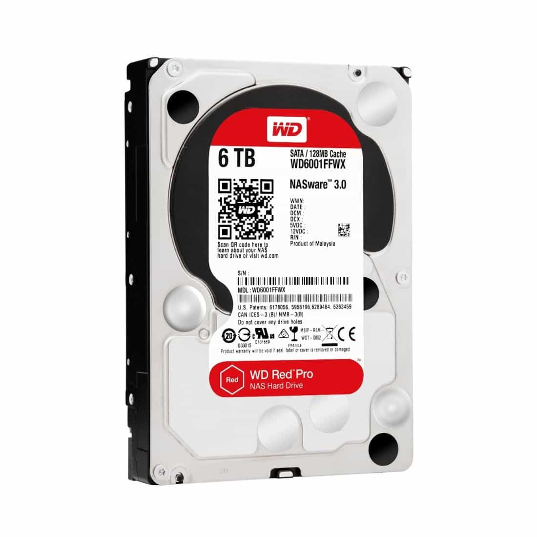 western digital expands wd red pro series with 6 tb drives. Black Bedroom Furniture Sets. Home Design Ideas