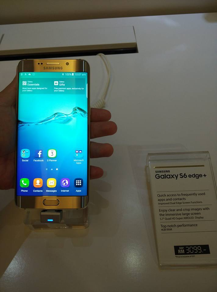 Samsungs Galaxy Note 5 And S6 Edge Have Arrived
