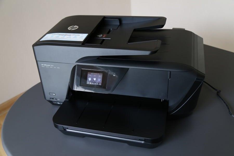 Review Hp Officejet 7510 The Bulky A3 Printer Pc Com