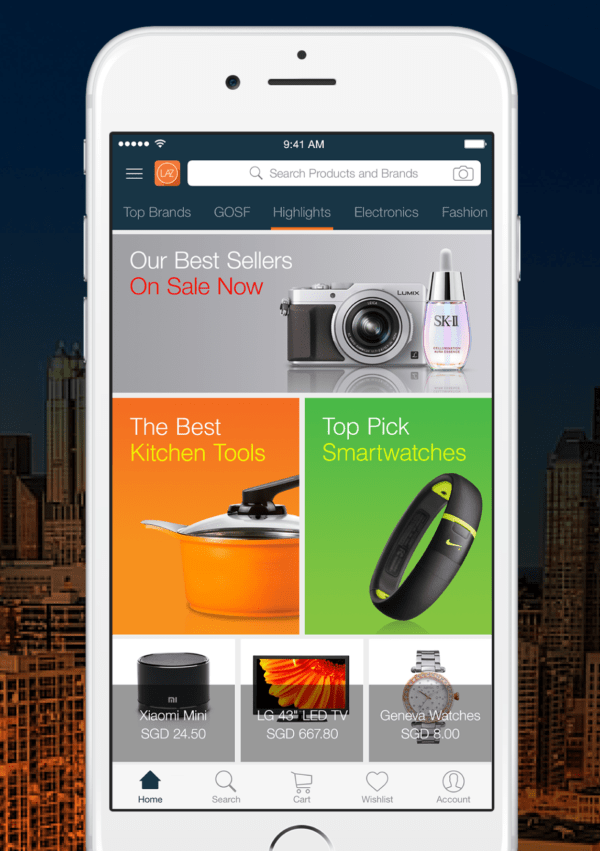 Lazada Redesigns Mobile App With Version 5.0 | LiveatPC