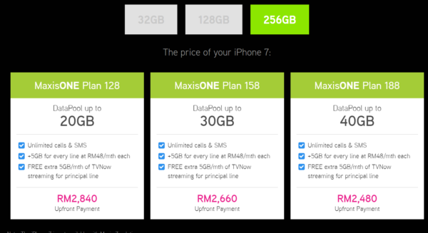 Maxis Releases iPhone7 and 7 Plus Plans | LiveatPC com