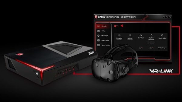 MSI Announces World's Smallest VR Gaming Desktop - The Trident