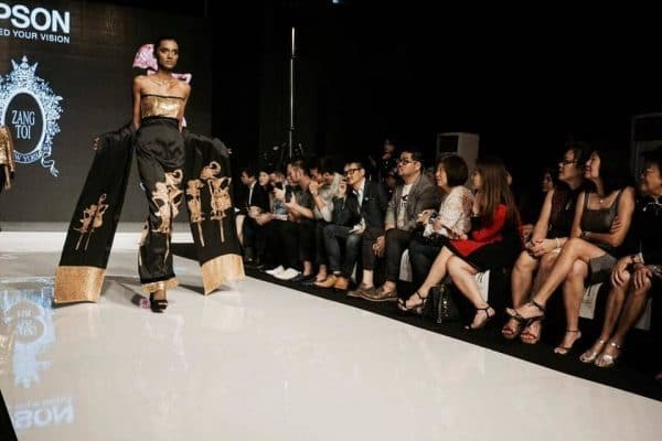 epson printed zang toi collection glitters kl fashion week