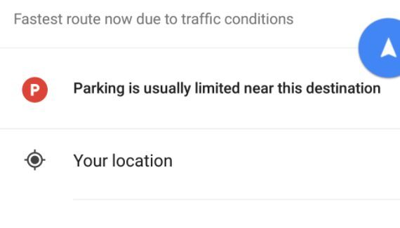 Google Maps Will Help You Check for Parking in Future Update