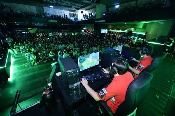 nvidia gtx 1070 powered pcs for esl one genting dota 2 tournament