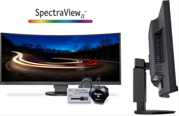 NEC Releases Curved Widescreen Monitor For Business Use