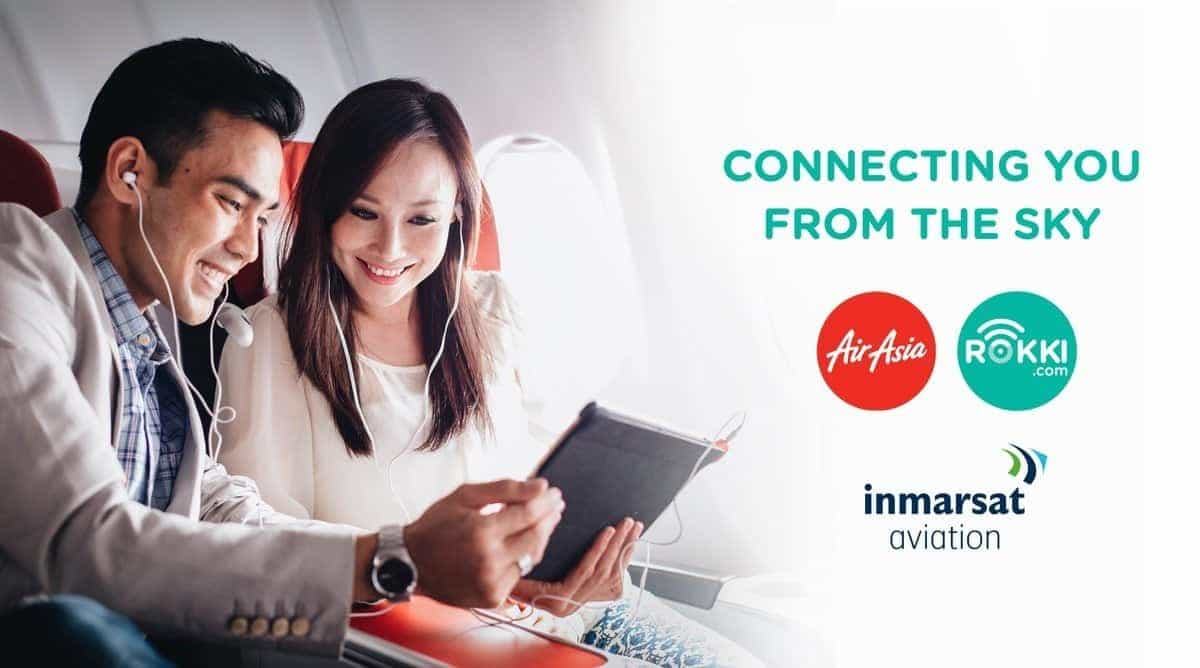 Inmarsat signs MoU with AirAsia - faster WiFi on flights