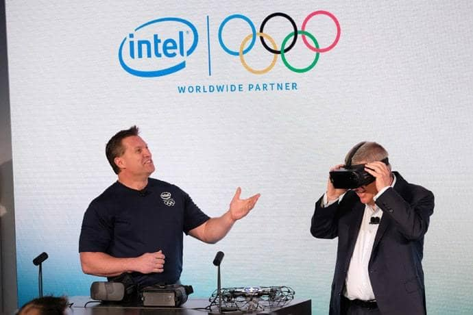 Virtual Reality-- Olympics Technology