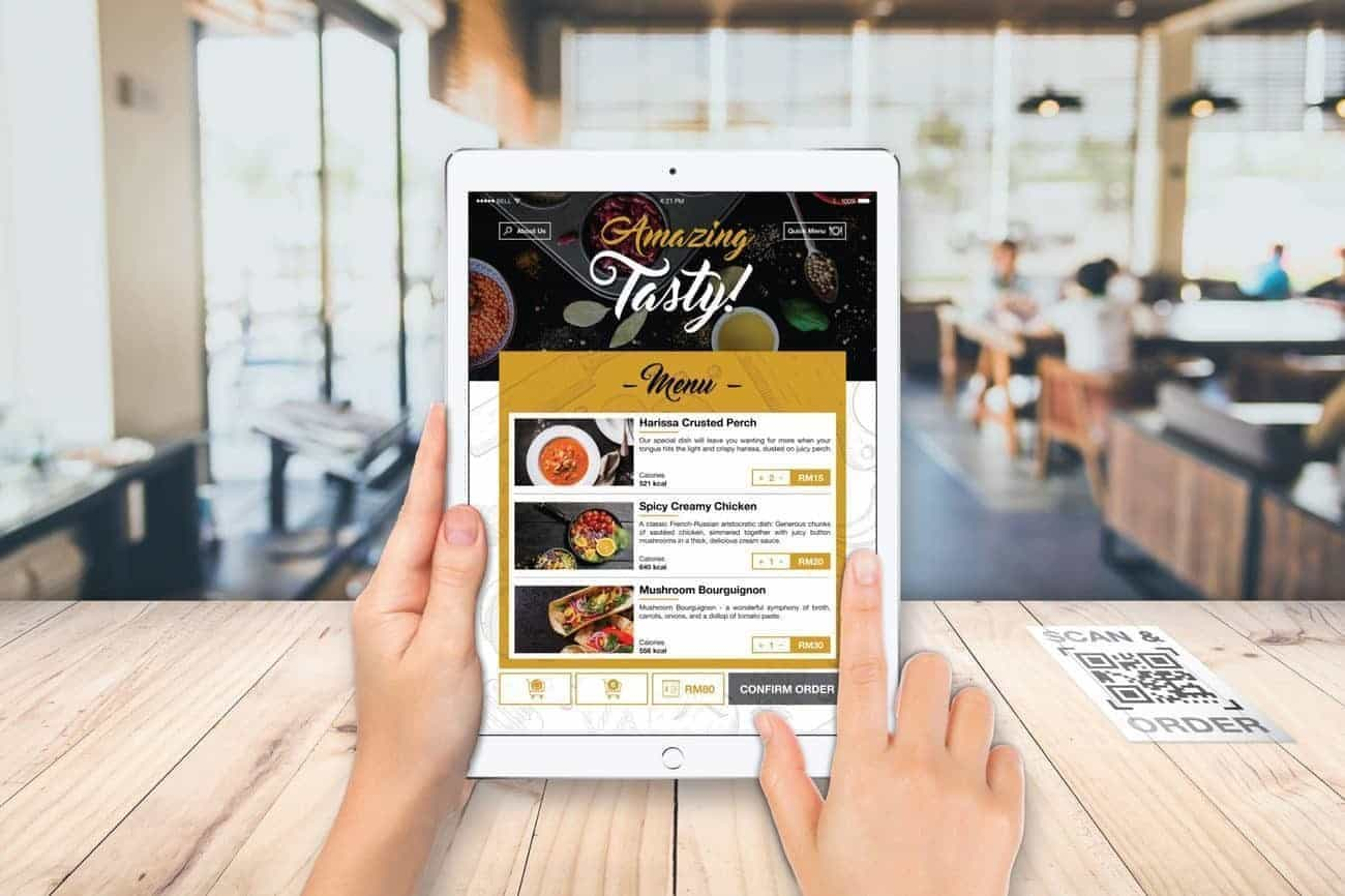 M3 Tech Unveils New Self Order System For Restaurants Pc
