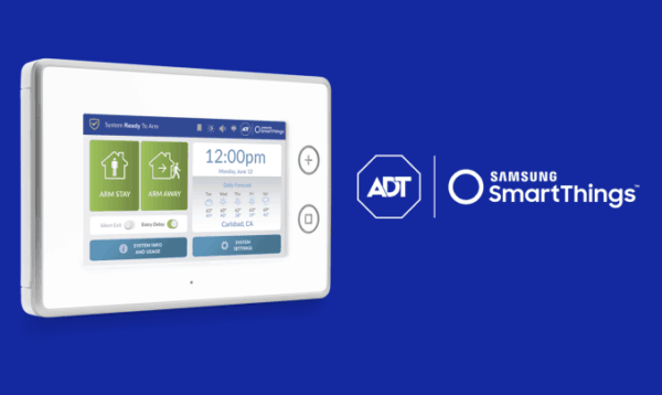 Samsung SmartThings and ADT for Home Security Systems