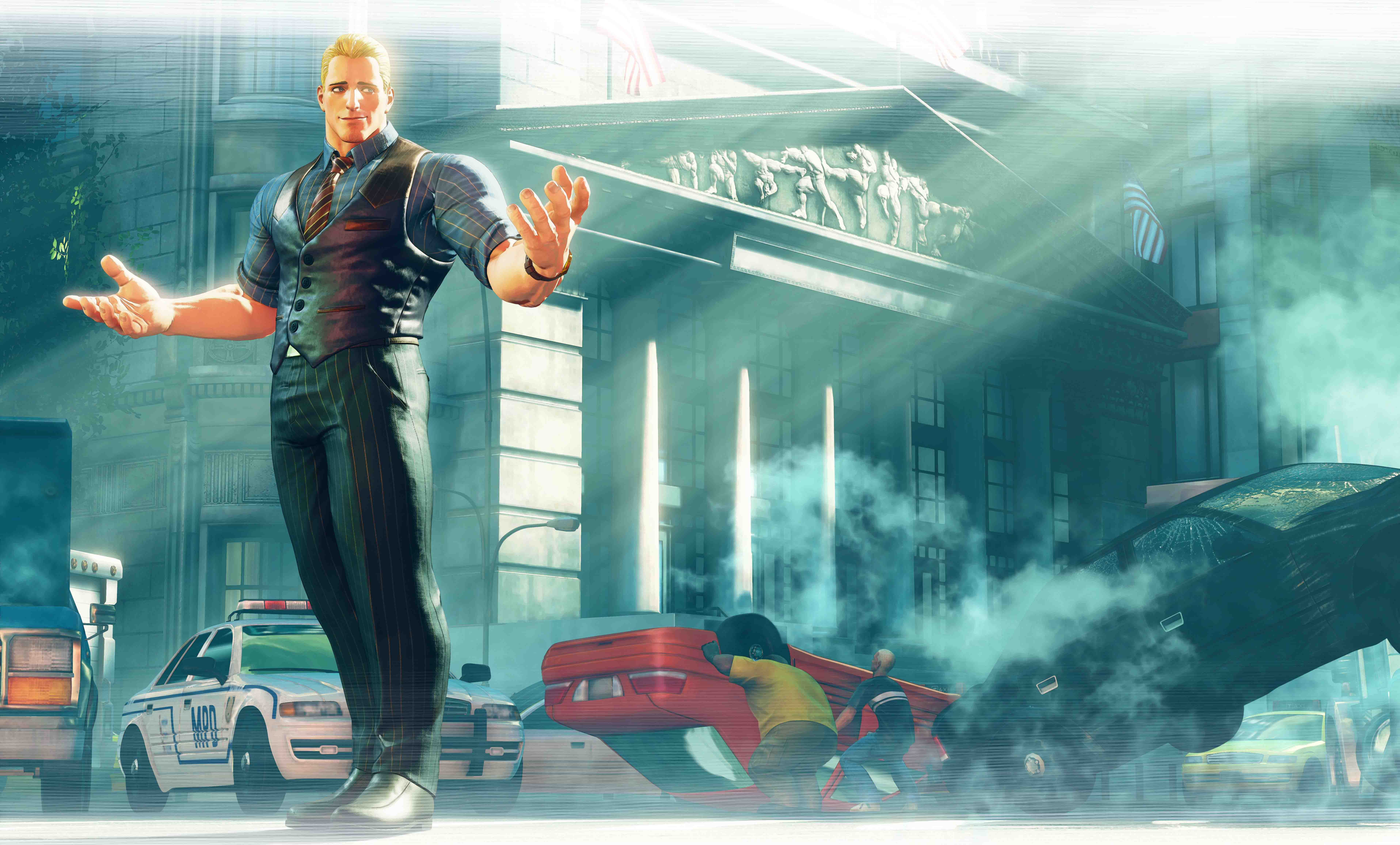 Cody Breaks In To Street Fighter V Arcade Edition On 26th June