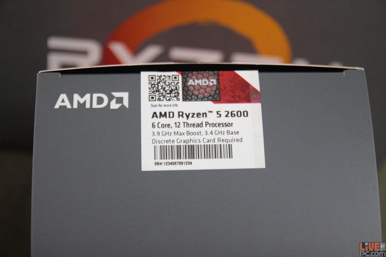 Review: AMD Ryzen 5 2600 - Perfect for Home | LiveatPC com