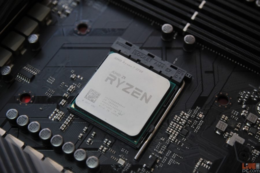 Review: AMD Ryzen 7 2700 - The Awesome Work Buddy | LiveatPC com