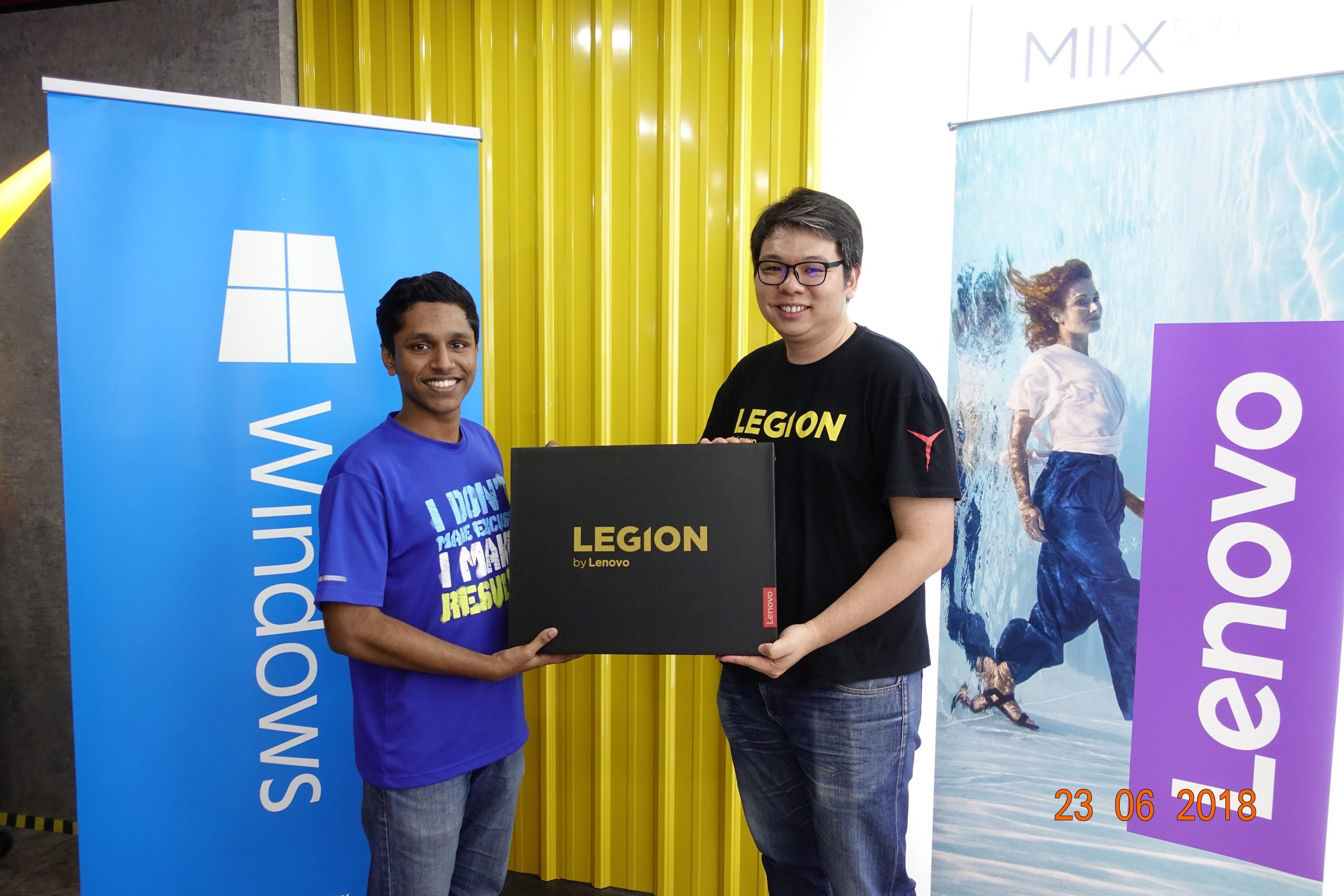 Winner of Lenovo Legion's Be a Legend tournament