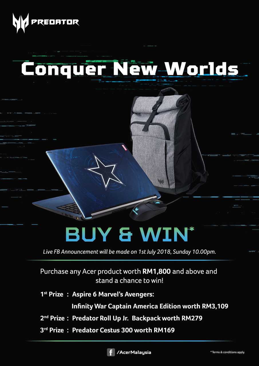 predator launch promotion