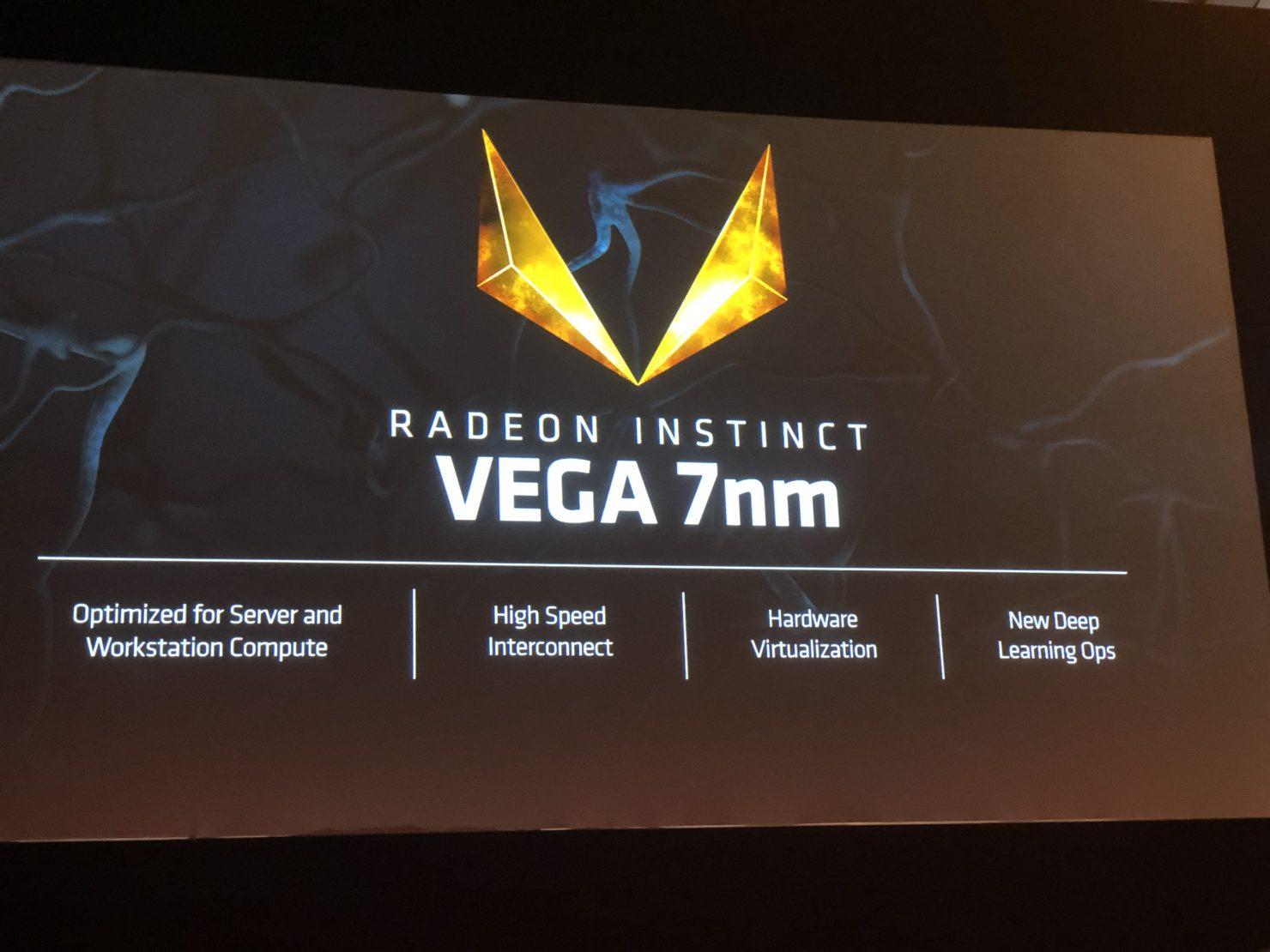 Computex 2018: AMD Launches Incredible 32GB 7nm Vega Instinct GPU