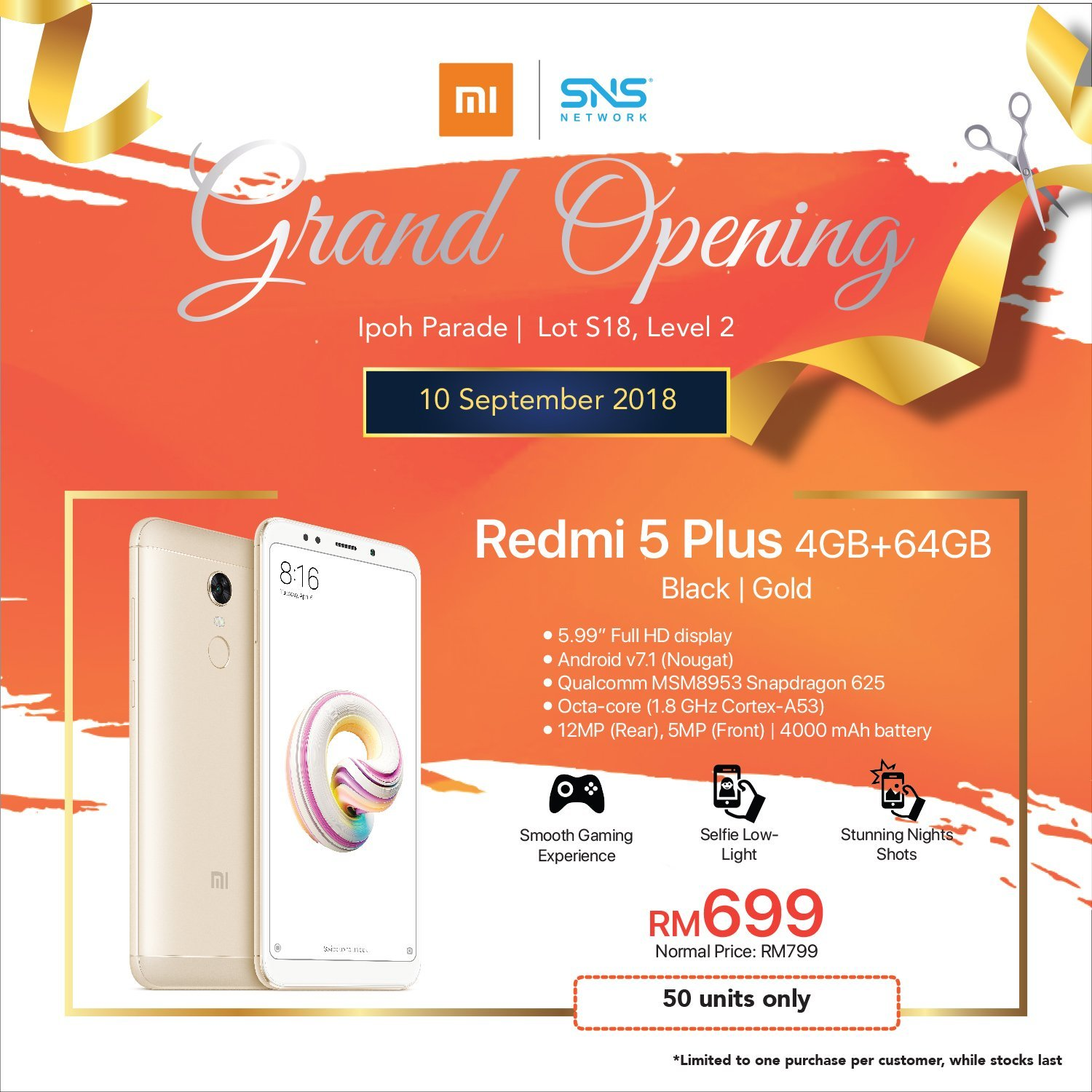 Sns Network Opens First Authorised Mi Store In Perak Speaker Bluetooth Leather Black Grand Opening Ipoh Parade