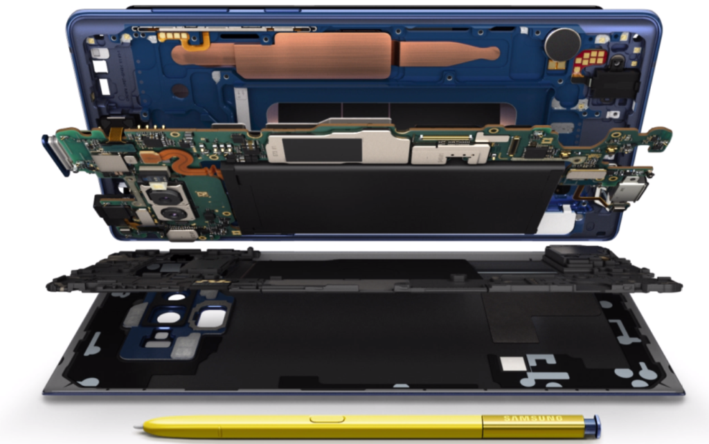 Have you ever wondered what's inside the Samsung Galaxy Note9?
