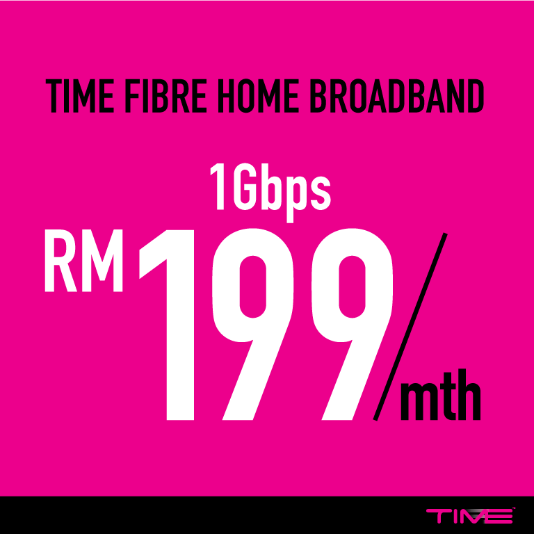 Time broadband 1GB - What you can do with the Internet connection