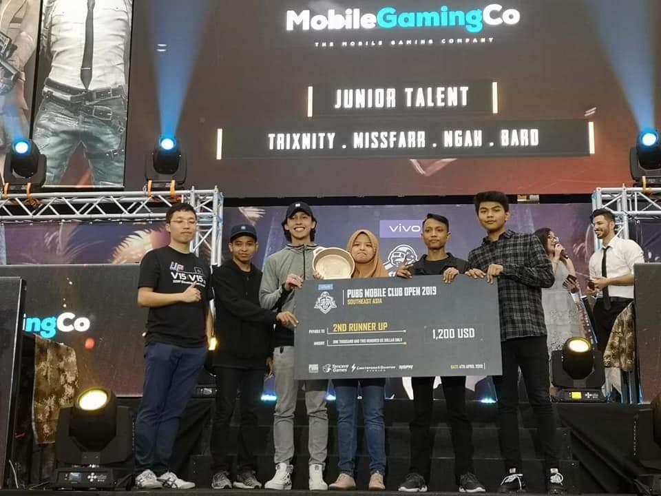Junior Talent' Represents Malaysia To Semi-Finals of PUBG