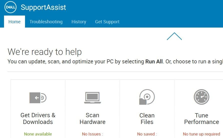 dell support downloads and drivers