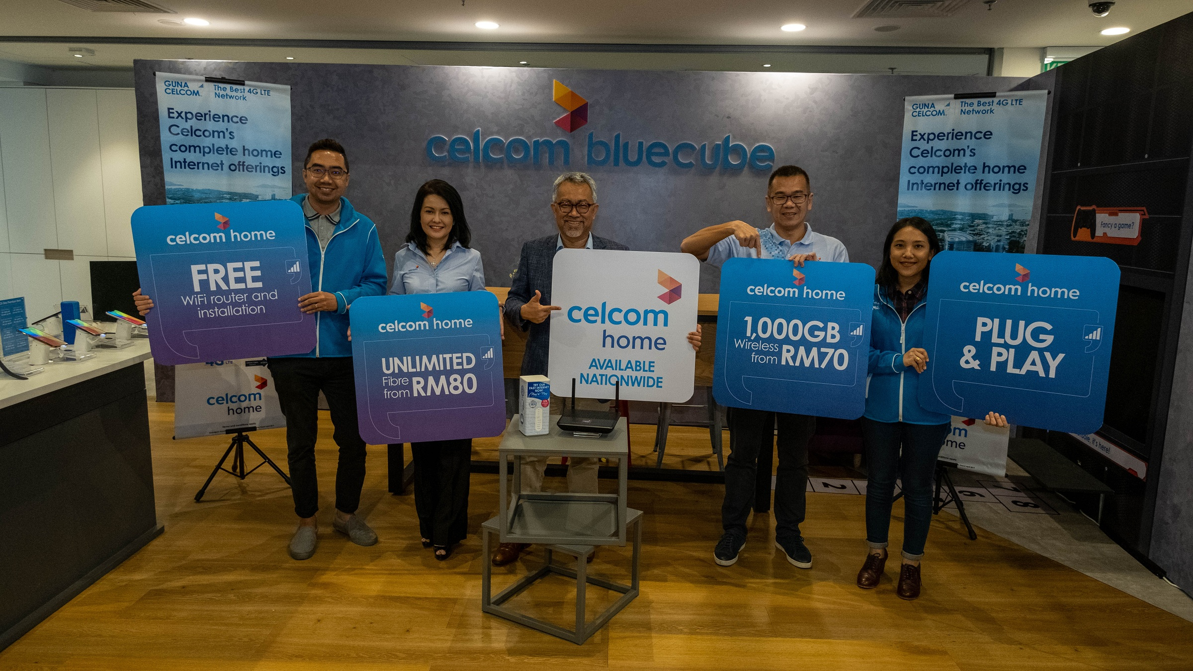 Celcom Offers Unlimited High Speed Home Fibre For As Low As
