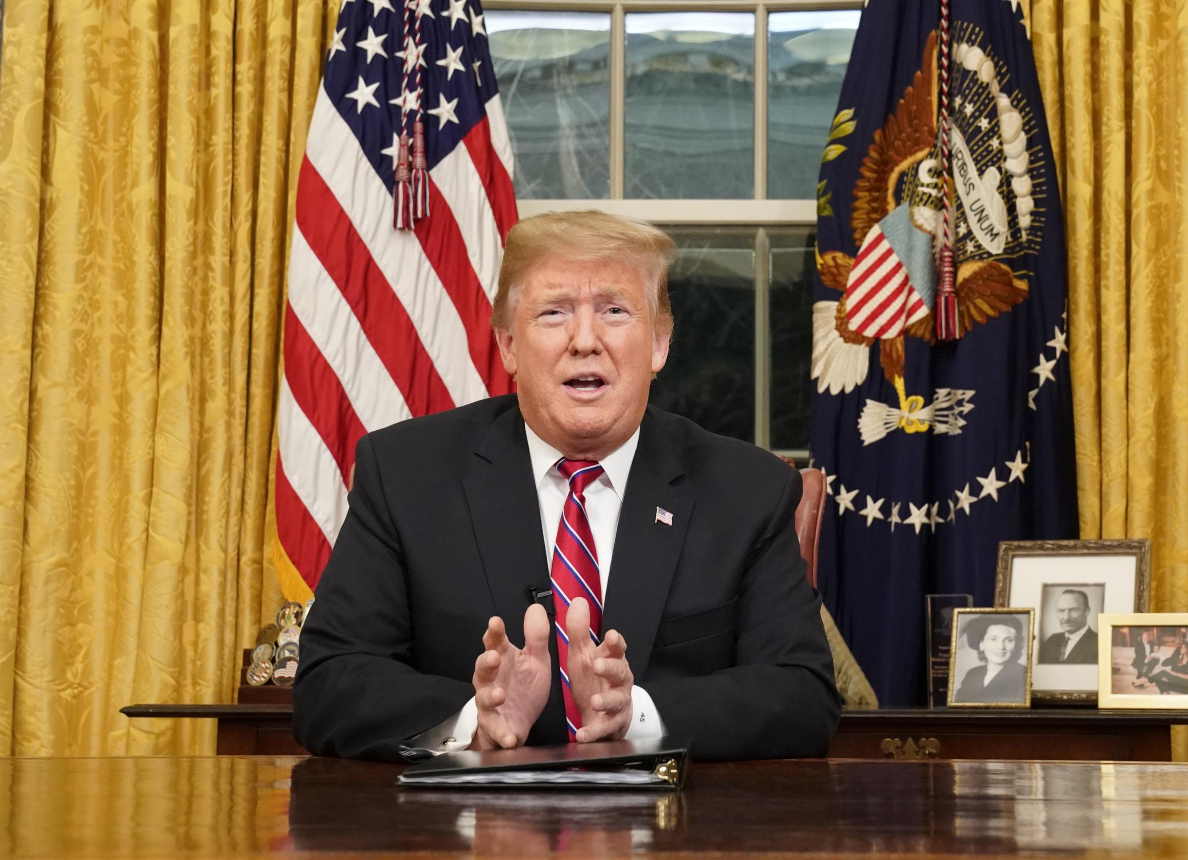 Trump in office